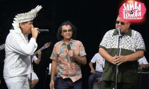 Chico da Silva o sambista do Brasil, cantando e interpretado por Klinger Araújo  e David Assayag
