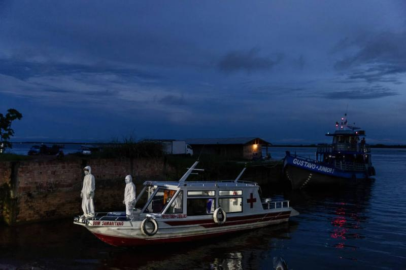 Amazonas, provedor da vida, desencadeia a pandemia