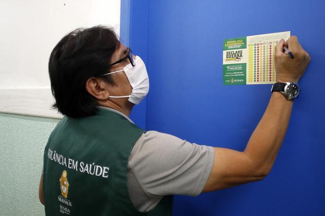 Campanha alerta população sobre prevenção à dengue diante de aumento de casos em Manaus