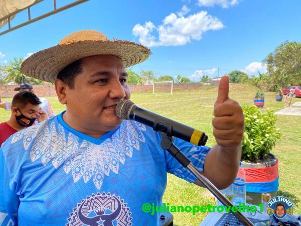 Parintinenses lançam Juliano Santana como pré-candidato a vereador de Manaus