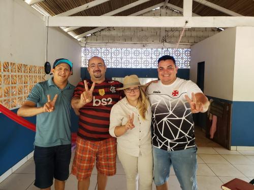 Alexandre e Marieta unem oposição em BVR para enfrentar Eraldo CB na eleição 2020
