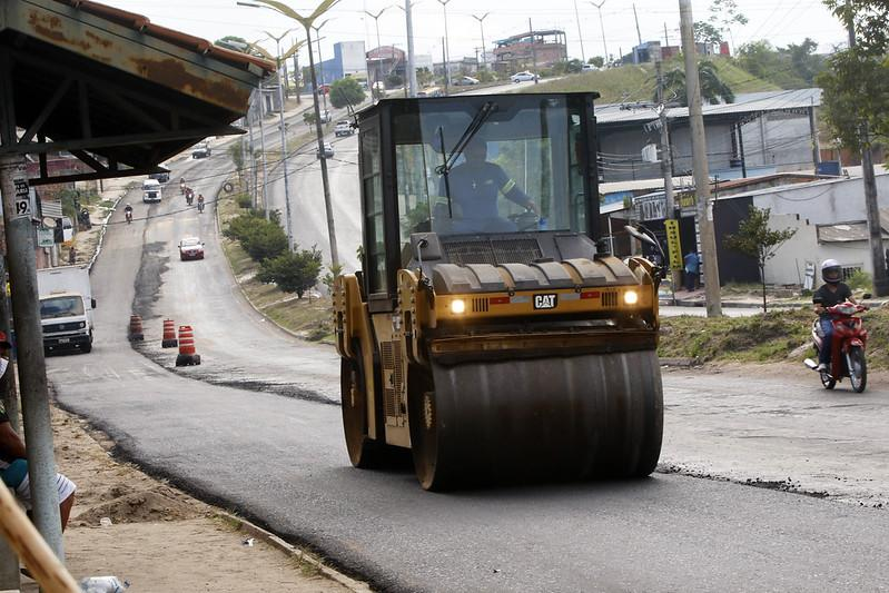 'Requalifica 5' leva novo asfalto à avenida José Henriques