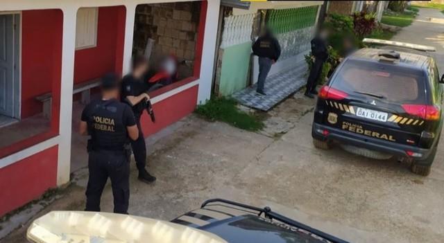 Policia Federal deflagra operação contra tráfico internacional de drogas no Amazonas