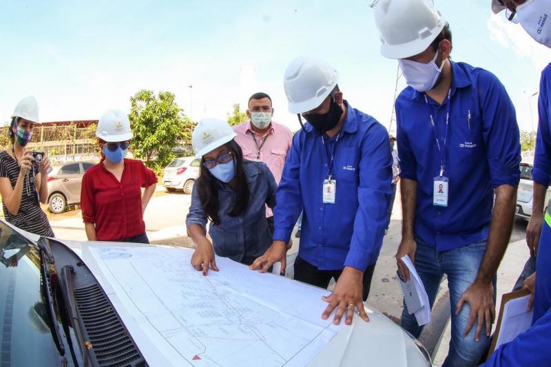 Governo do Estado e Município concluem testes do Sistema de Esgotamento Sanitário do Prosamim