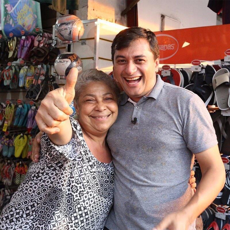 Governador Wilson Lima recebe alta hospitalar e se recupera em casa
