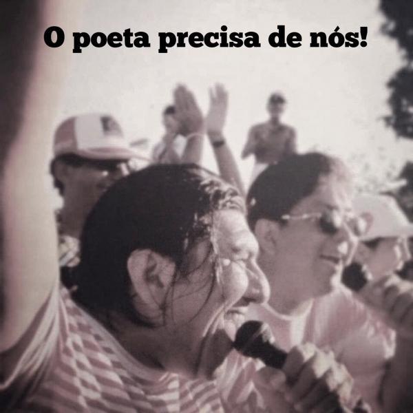Campanha em prol a saúde do poeta e compositor Emerson Maia