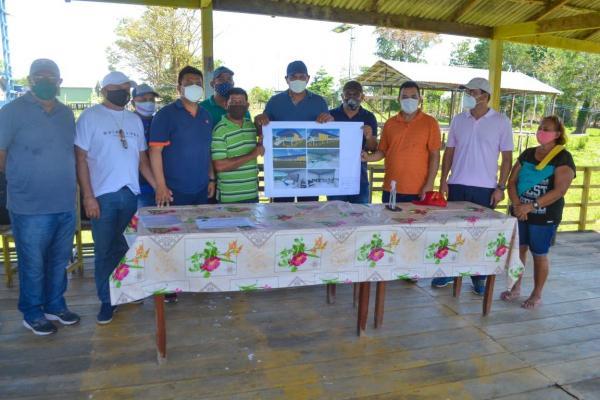 Bi Garcia dá ordem de serviço para construção de escolas no São Sebastião do Boto e Brasília