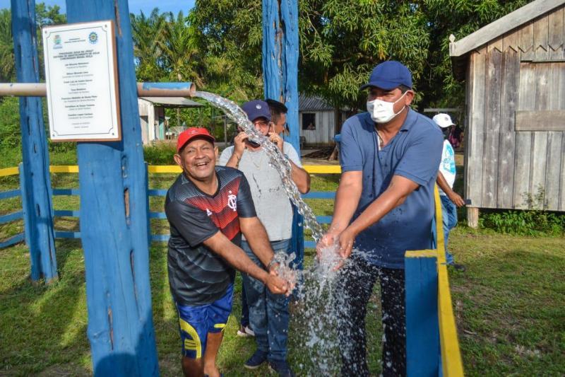 Programa Água no Jirau chega no Brasil Roça, na Gleba de Vila Amazônia