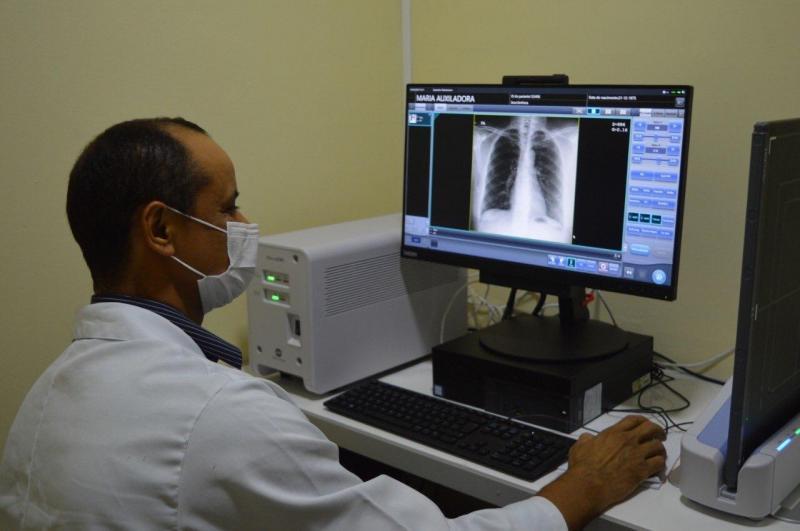 SPA Danilo Corrêa recebe raio-X digital da Secretaria de Saúde