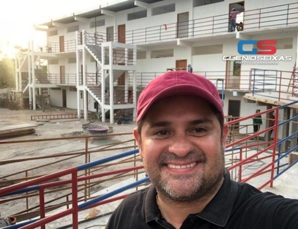 Glênio animado com a reeleição, pois a oposição não se entende em Barreirinha