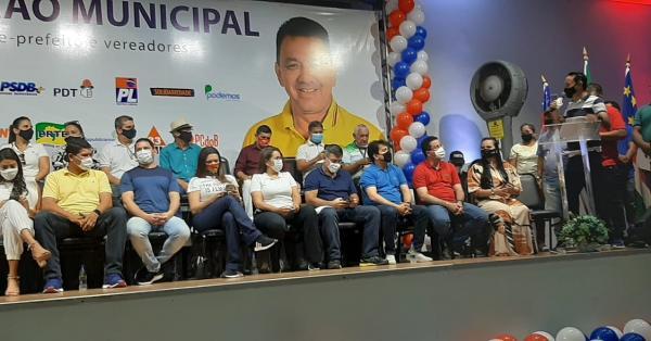 Com o apoio de 16 partidos, Bi Garcia é candidato a prefeito de Parintins