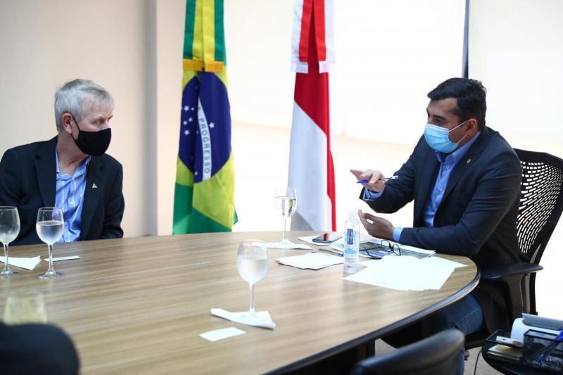 Wilson Lima alinha próximas fases de projeto do Distrito Bioagroindustrial da Amazônia