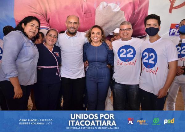 Cabo Maciel prefeito e Elenize vice-prefeita disputam prefeitura de Itacoatiara 2020