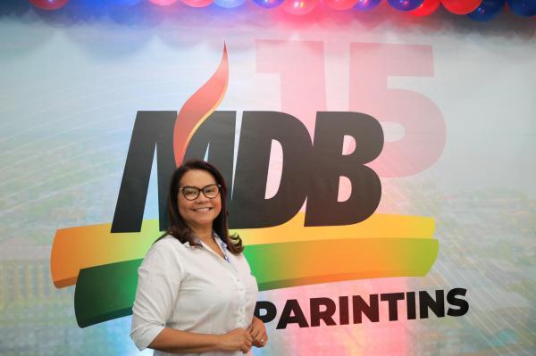 Márcia Baranda vereadora 2020, deputada 2022 e prefeita 2024