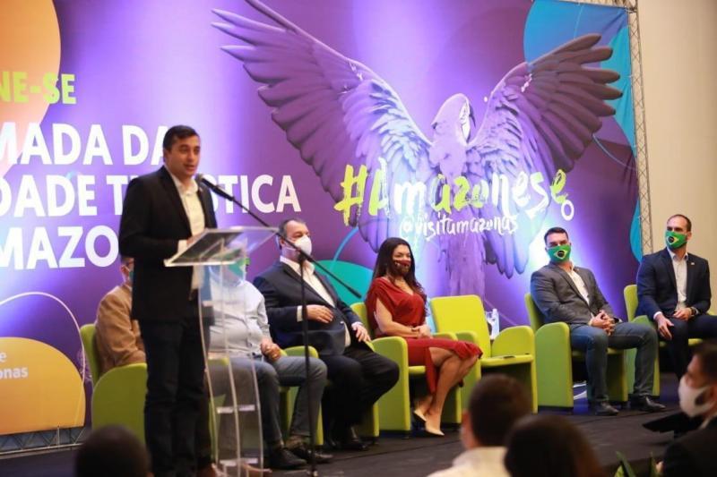 Ao lado de autoridades federais, Wilson Lima lança programa de retomada da atividade turística no Amazonas