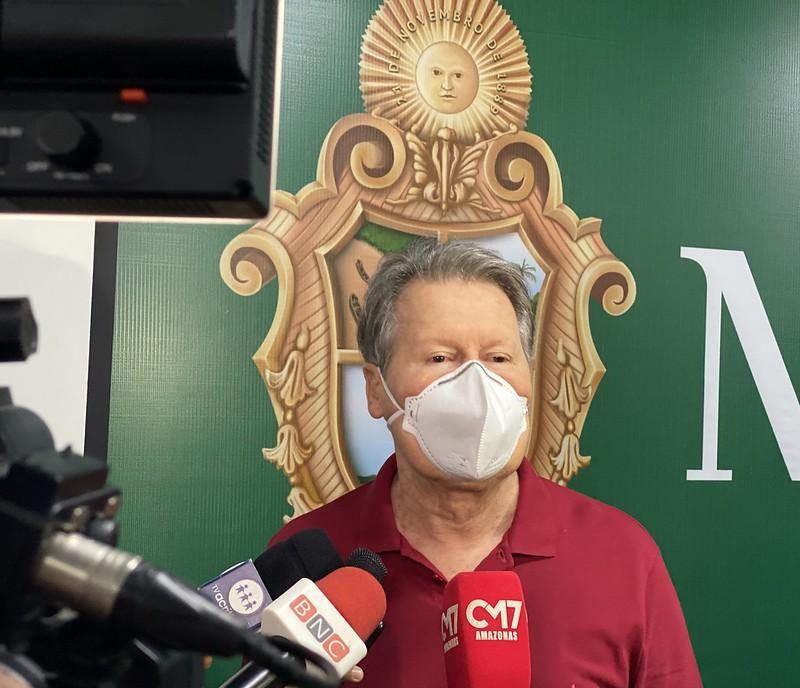 Cancelado Réveillon de Manaus 2020: 'Não é um ano de festas', diz prefeito Arthur Neto