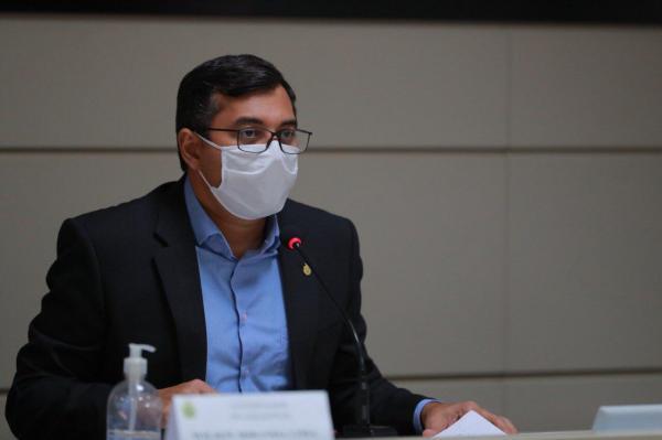 Wilson Lima e governadores da região participam de videoconferência sobre a BR-319, nesta segunda-feira