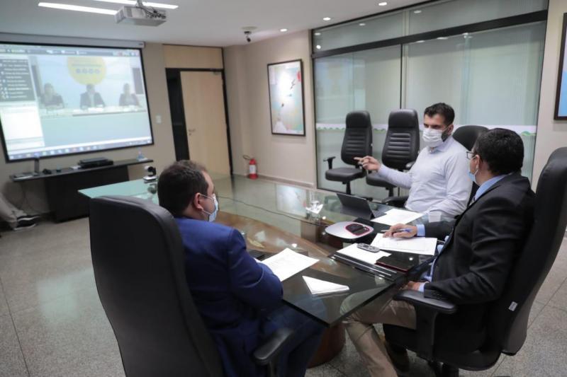 Em reunião sobre a BR-319, Wilson Lima defende união de esforços para manter avanços na recuperação da rodovia