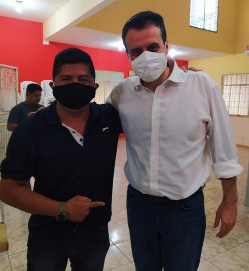 Henrique Pontes é candidato a vereador na cidade de Nhamundá