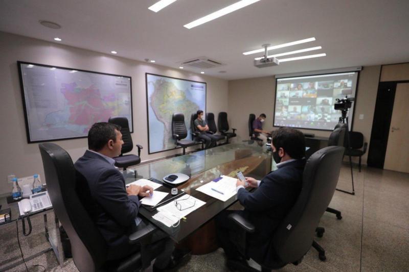 Wilson Lima reforça importância da BR-319 durante Fórum de Governadores da Amazônia Legal