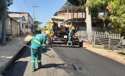 Governo do Estado avança com as obras no sistema viário de Tefé