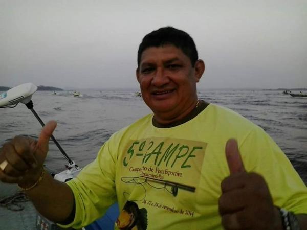 Geraldo Sávio o pescador e humorista dos amigos