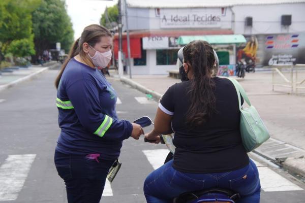 EMTT faz campanha de conscientização na Semana Nacional de Trânsito