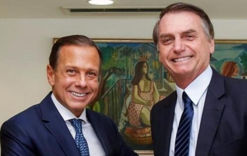 Bolsonaro e Doria são piores cabos eleitorais para Prefeitura de SP, mostra Datafolha