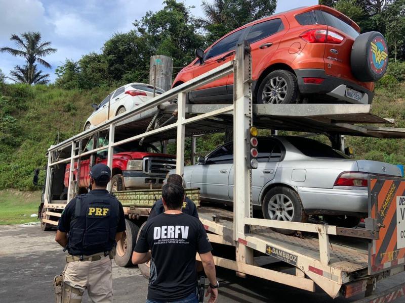 DERFV prendeu mais de 300 por roubos e furtos de veículos no AM