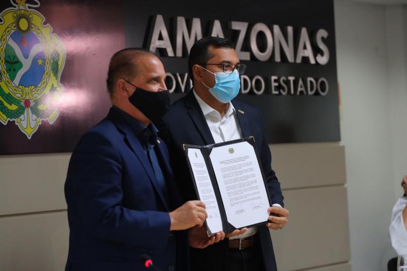 Wilson Lima e ministro Onyx Lorenzoni lançam Programa de Aquisição de Alimentos com investimento recorde no Amazonas