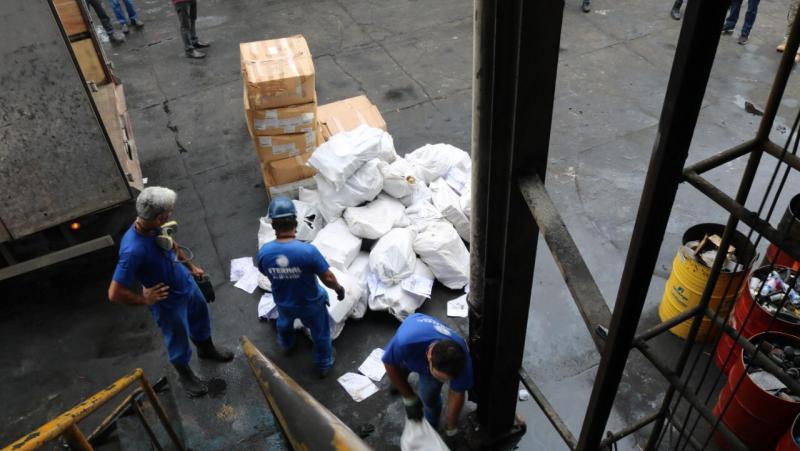 Sistema de Segurança incinera mais de uma tonelada de drogas em Manaus