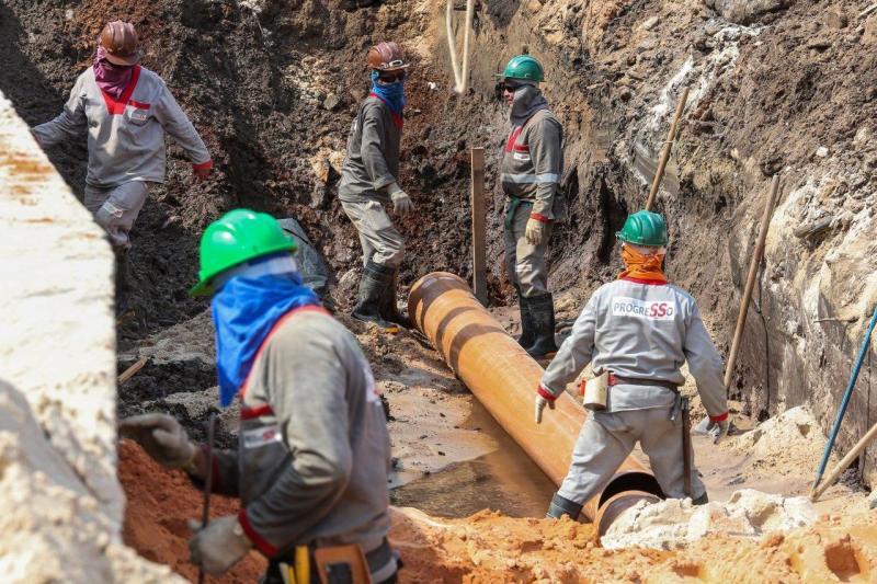 Governo do Estado inicia implantação de redes de esgoto no igarapé Mestre Chico