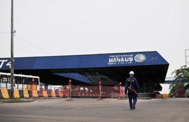 Terminal 4, no bairro Jorge Teixeira, tem reforma iniciada