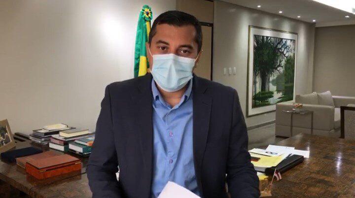 Wilson Lima descarta  'lockdown' no Amazonas e destaca esforços contra a Covid-19