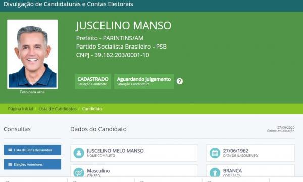 Veja os 76 candidatos a vereador de Juscelino Manso na eleição 2020