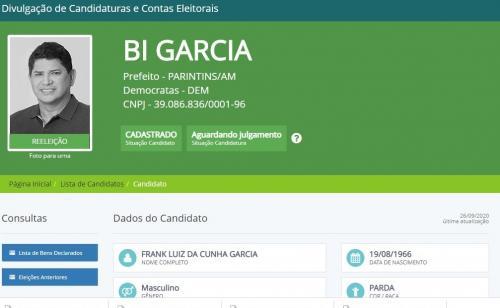 Conheça os 203 candidatos de Bi Garcia para a Câmara de Parintins 2020