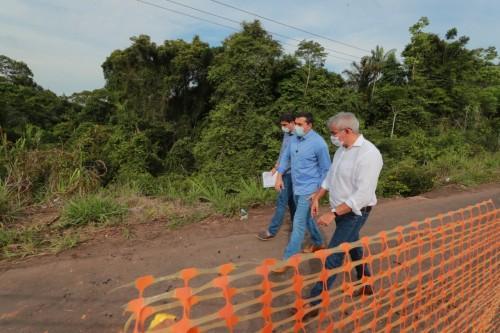 Wilson Lima vai reconstruir rodovia Carlos Braga em Iranduba