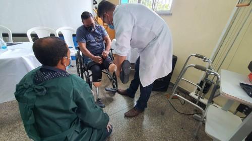 SES-AM entrega próteses, órteses e calçados no Centro de Reabilitação Colônia Antônio Aleixo