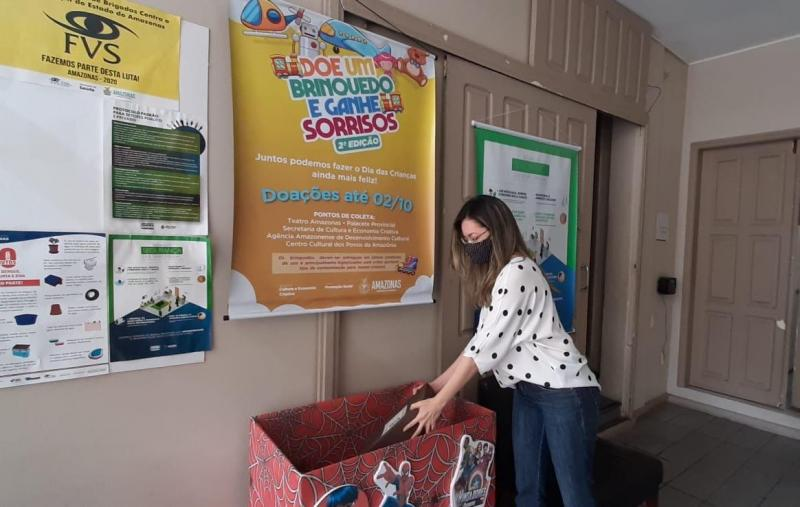 Prorrogadas doações em espaços culturais para campanha 'Doe um Brinquedo e Ganhe Sorrisos'
