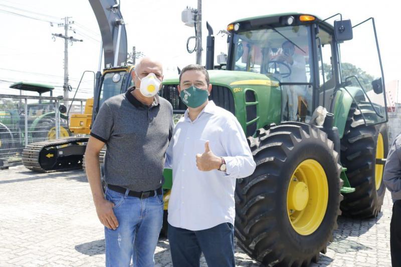 Expoagro: 1ª Feira Agropecuária Digital do AM tem comercialização de máquinas agrícolas com isenção de ICMS