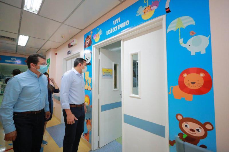 Wilson Lima anuncia oferta de novos serviços no Instituto de Saúde da Criança do Amazonas (Icam)