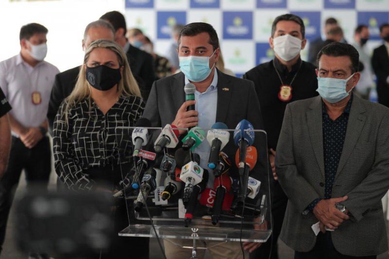 'É uma notícia que nos deixa muito animados', afirma Wilson Lima sobre possibilidade de vacinação contra Covid-19 a partir de janeiro
