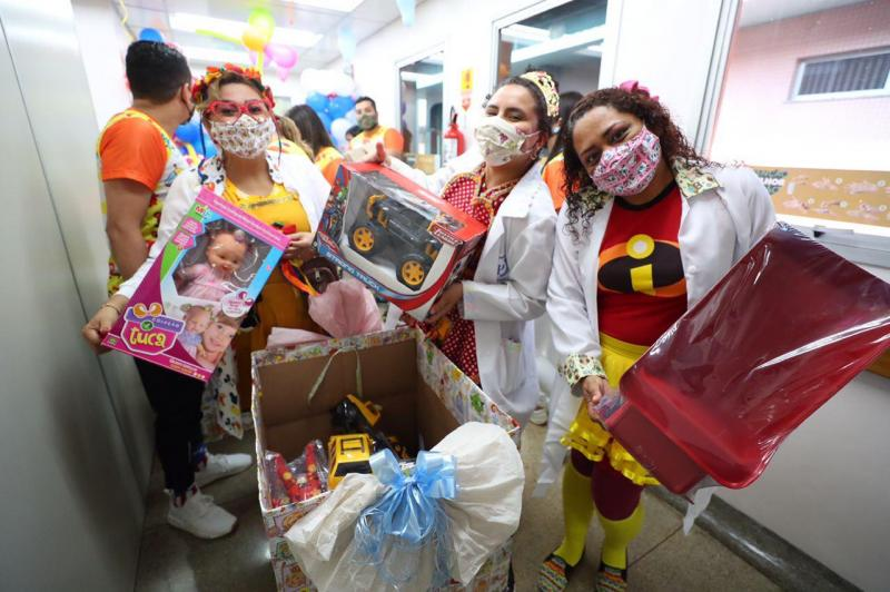 Campanha 'Doe um Brinquedo e Ganhe Sorrisos': distribuição de 20 mil doações iniciou nesta segunda-feira