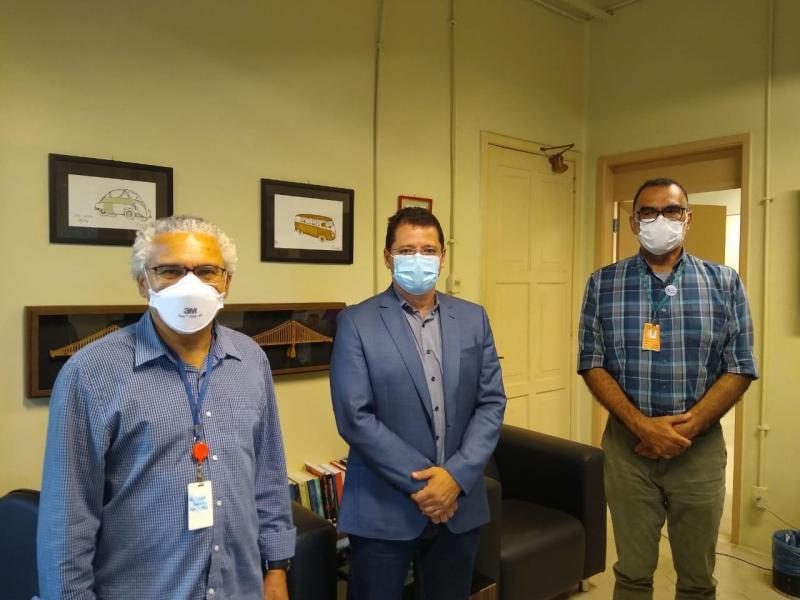 Secretário de Saúde discute novas parcerias com a Fundação Oswaldo Cruz