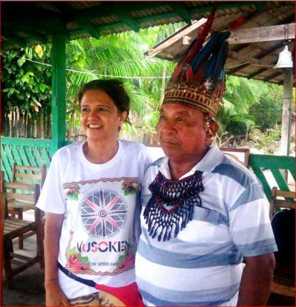Tuxaua Amado Menezes da Tribo Sateré-Mawé morre de Coronavírus