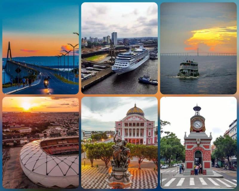 Deputados da Assembleia Legislativa parabenizam Manaus por seu aniversário