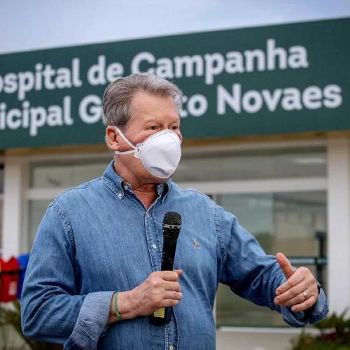 Prefeito Arthur alerta sobre falácia de Ricardo Nicolau construir hospital de 150 leitos em seis meses