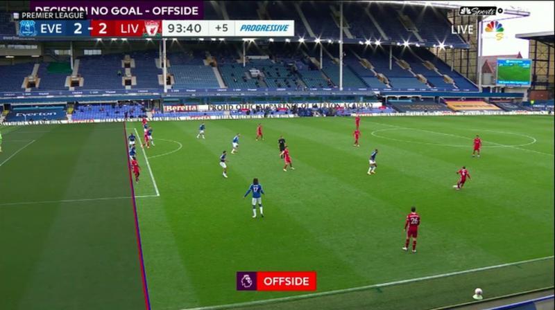 Fifa quer melhorar visual das linhas de impedimento e planeja