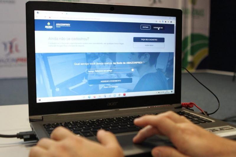 Em três meses, agendamento eletrônico da Amazonprev já beneficiou mais de 1,5 mil aposentados e pensionistas