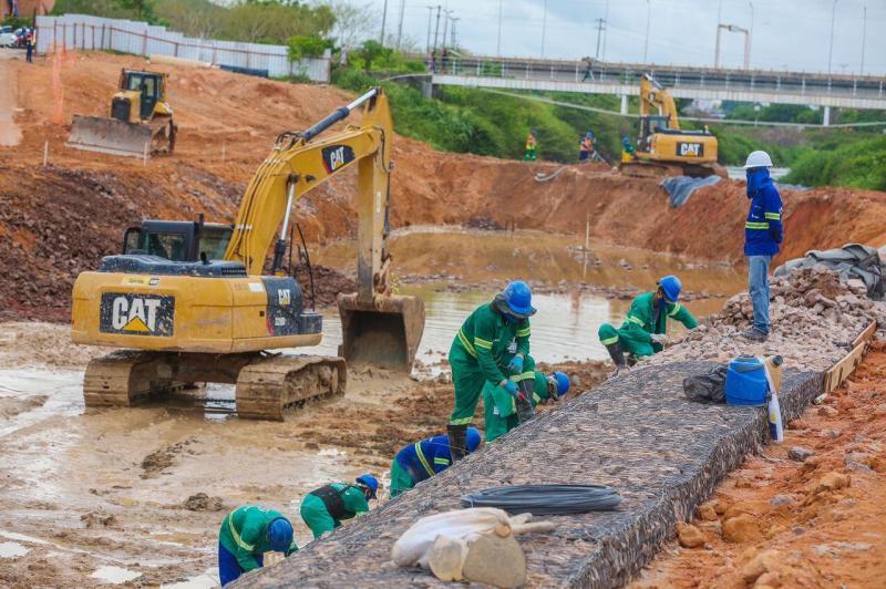 Governo do Estado avança na requalificação urbanística do igarapé do 40